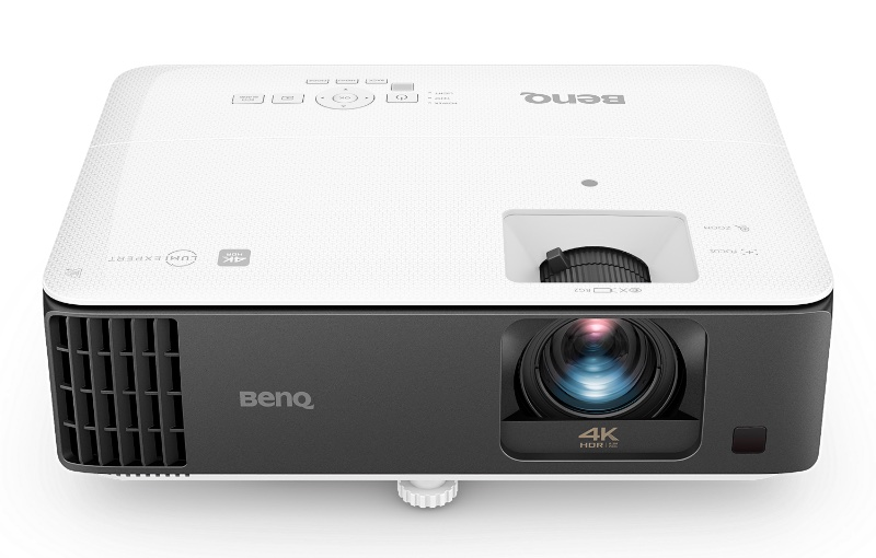 The BenQ TK700STi is a 4K gaming projector. Image courtesy of BenQ.