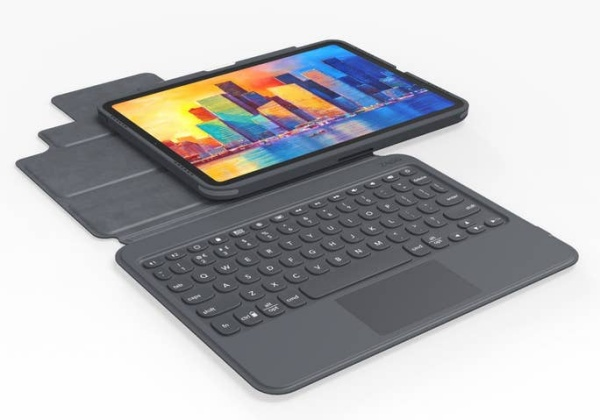 The Zagg Pro Keys with Trackpad. <br>Image source: Zagg