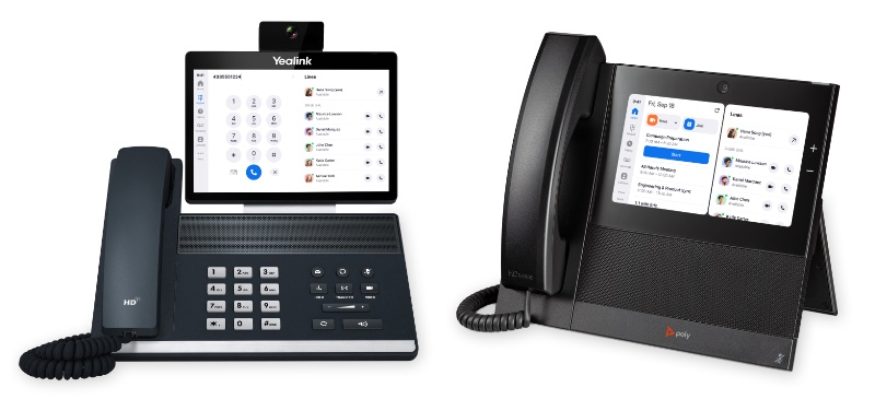 Users can easily swap from a voice to a video call. Image courtesy of Zoom.