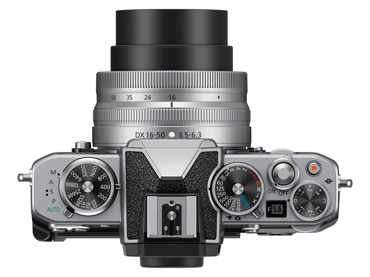Lovely dials on the Z fc. (Image source: Nikon)