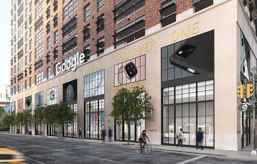 Google Store Chelsea. Source: Google (blog).