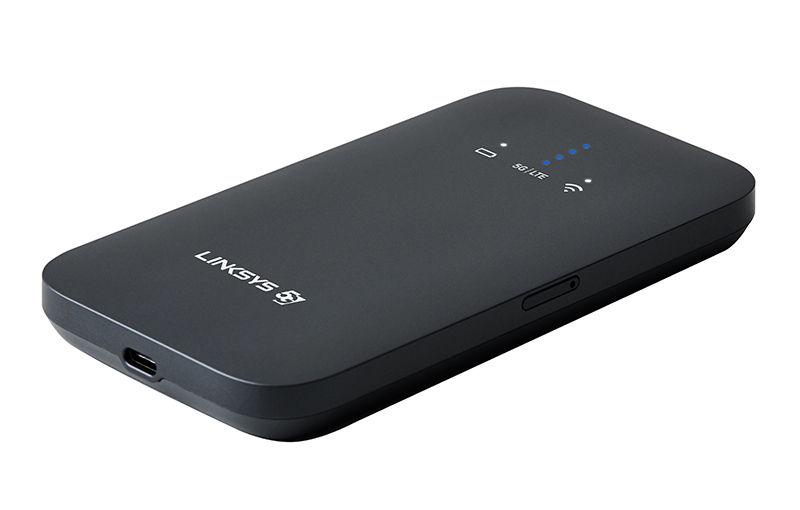 Linksys 5G and Wi-Fi 6 Mobile Hotspot.