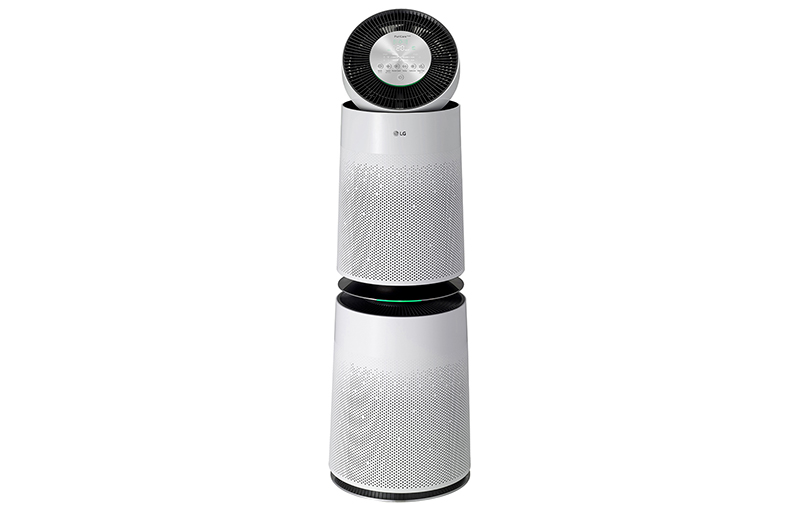 LG Puricare 360° Double with Safe Plus Filter.