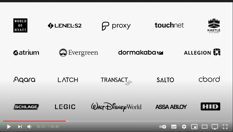 Some of the partners creating digital keys for Wallet.