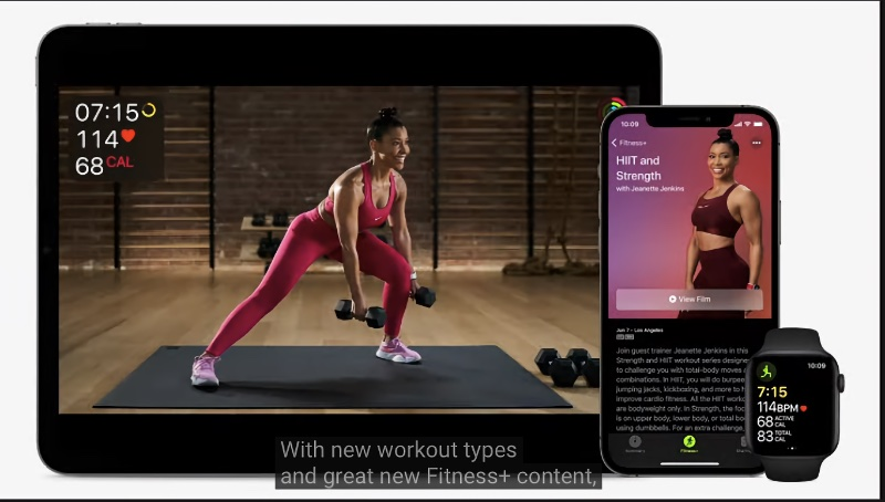 New workouts and trainers are coming to Fitness+.
