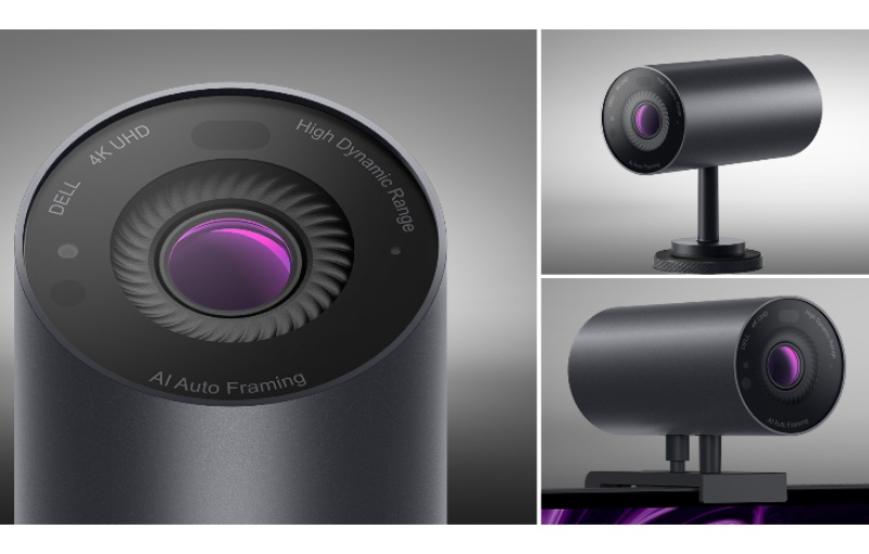 Always look your best with the Dell Ultrasharp Webcam. Image courtesy of Dell.