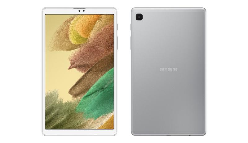 The Samsung Galaxy Tab A7 Lite. <br>Image source: Samsung