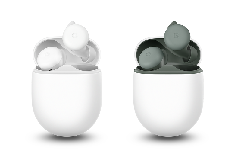 The Google Pixel Buds A-Series. <br>Image source: Google