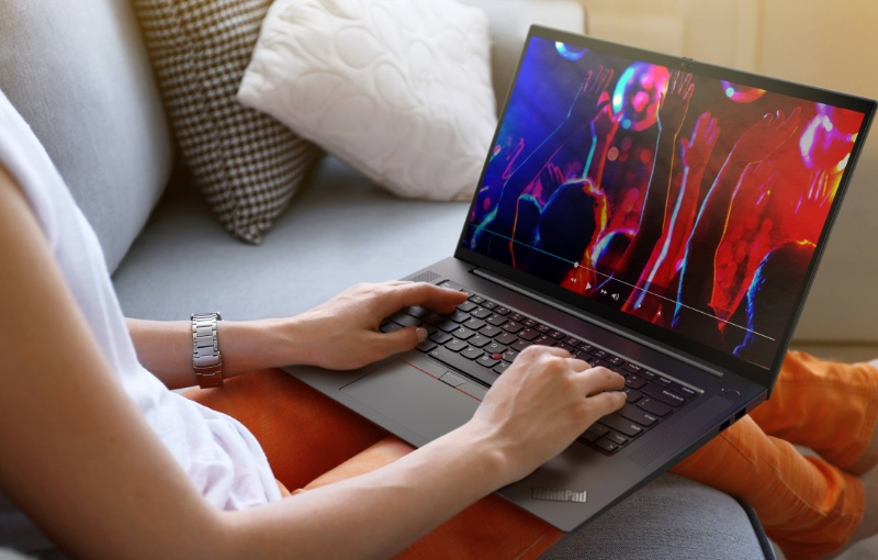The new ThinkPad X1 Extreme Gen 4 comes with a 16-inch screen. Image courtesy of Lenovo.