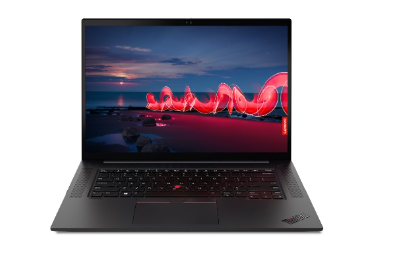 The ThinkPad X1 Extreme Gen 4 will be available in July. Image courtesy of Lenovo.