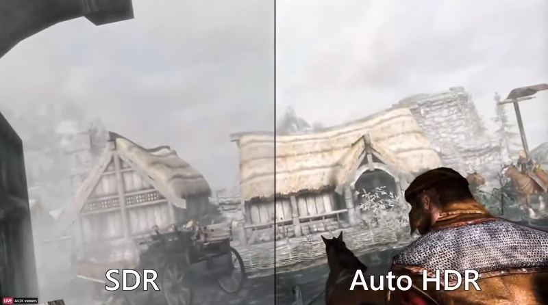 AutoHDR will make a big difference to gaming.