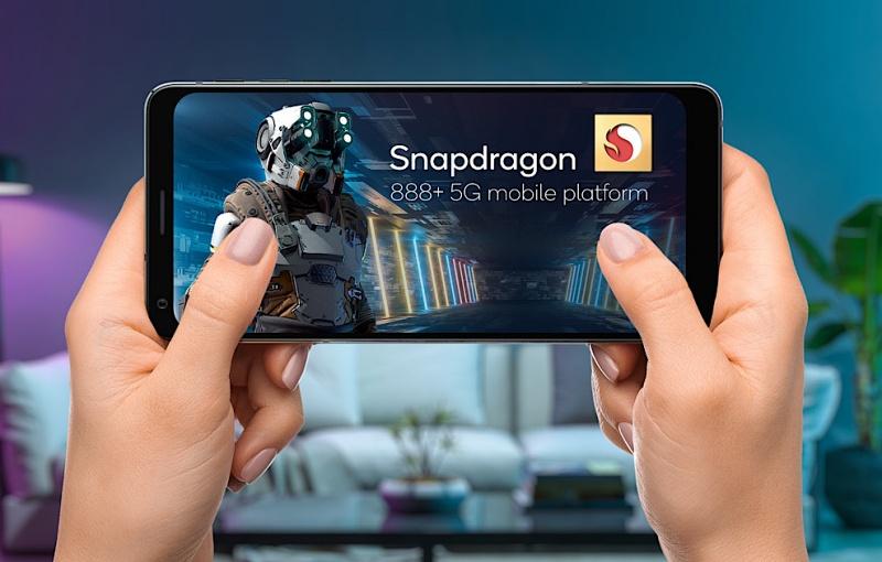 The Qualcomm Snapdragon 888+ mobile platform. <br>Image source: Qualcomm