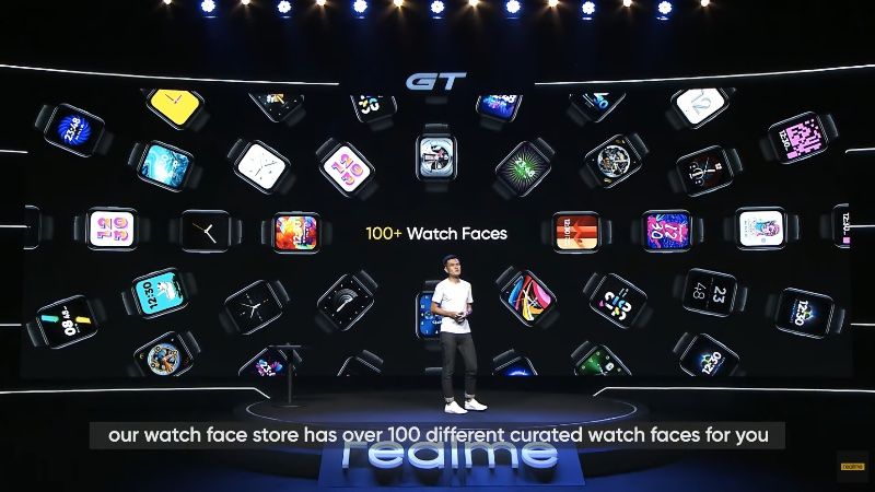 Match your mood with over 100 curated watch faces.