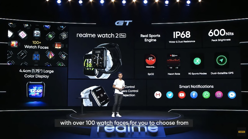 Enjoy everything new in the Watch 2 Pro.