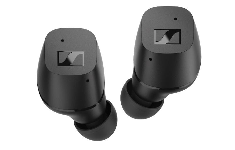 The CX True Wireless in matte black. (Image source: Sennheiser)