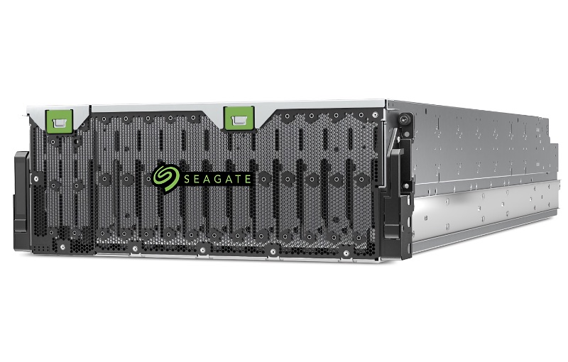 This will ship with an 18TB drive in all 106 bays. Image courtesy of Seagate.