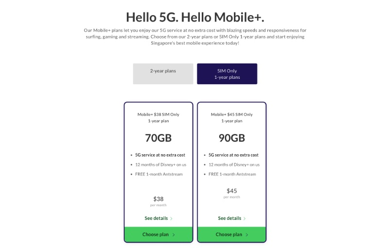You can get the new 5G SIM for free.