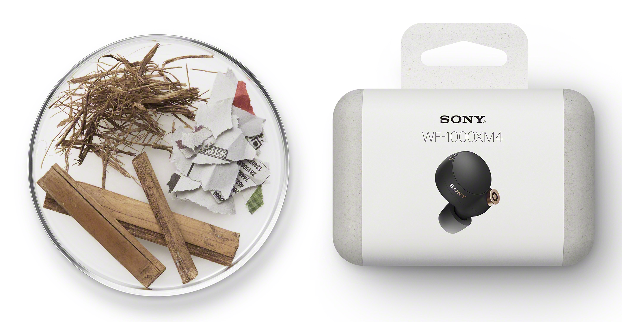 The packaging is more environmentally friendly. (Image source: Sony)