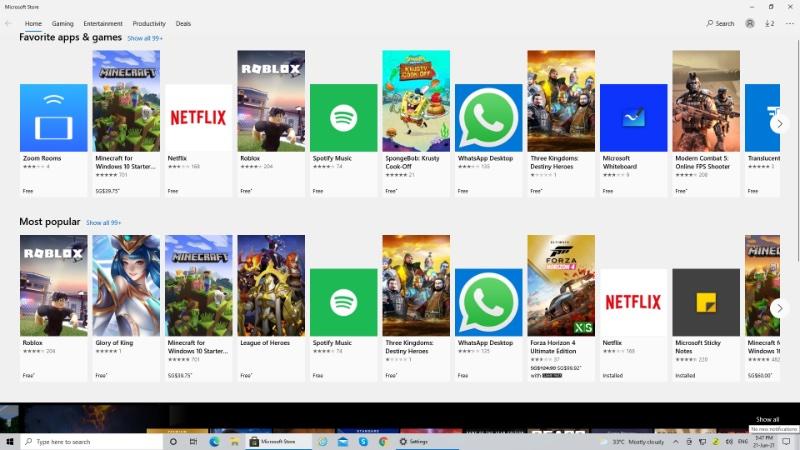 I miss Apple's App Store design.