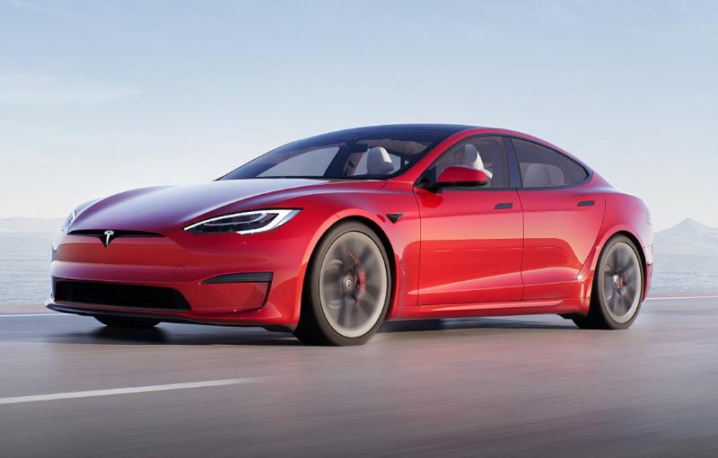 The Tesla Model S Plaid. (Image source: Tesla)