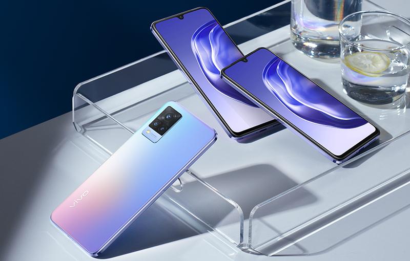Vivo V21 5G smartphone.