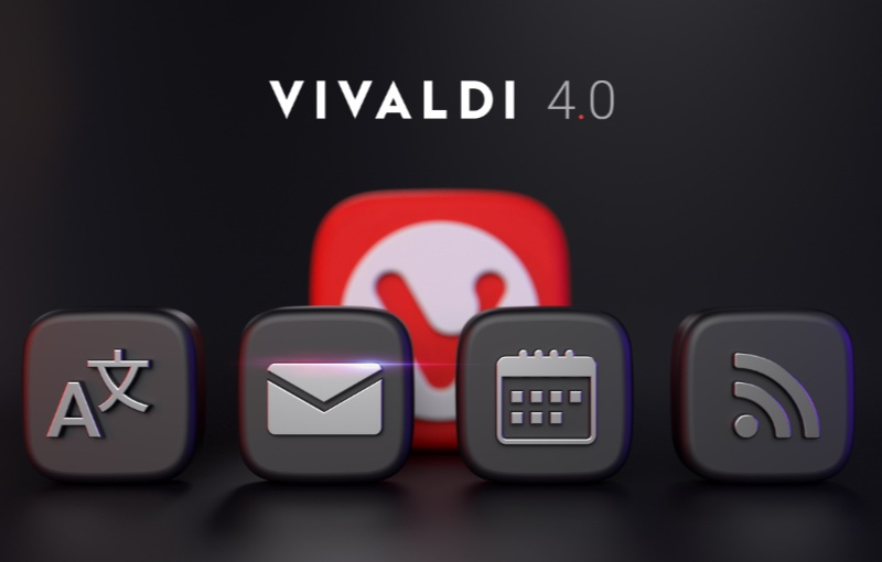 Vivaldi browser 4.0 is here with all new features. Image courtesy of Vivaldi.