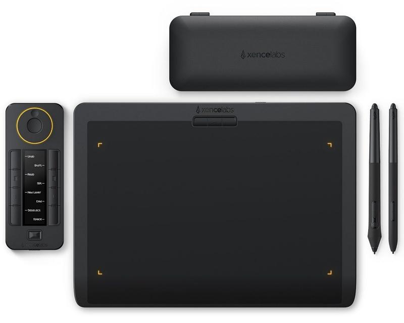 The Xencelabs Pen Tablet Medium bundle.