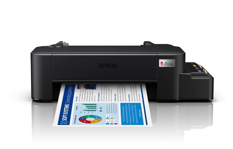 The L121 is truly just a printer. Image courtesy of Epson.
