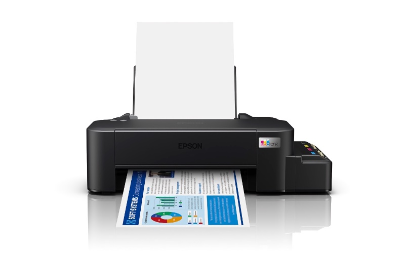The inktanks are kept in the little step on the side. Image courtesy of Epson.