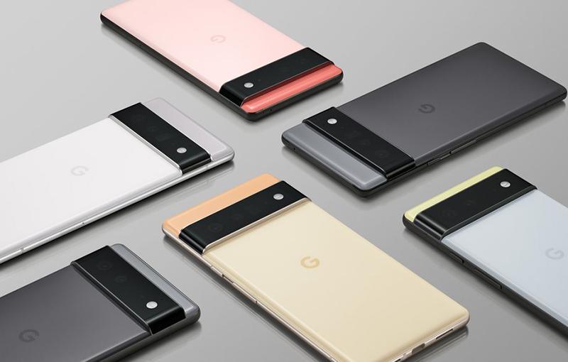 Renders of the Google Pixel 6 lineup. <br>Image source: Google