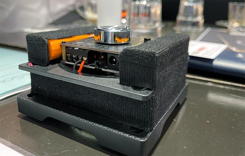 The BernieSound VST30 transducer.