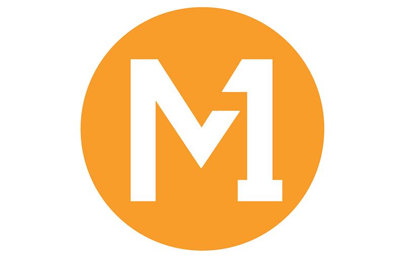 M1 logo, post-rebrand.