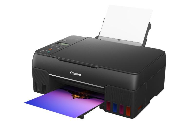 The Pixma G670 lacks an ADF. Image courtesy of Canon.