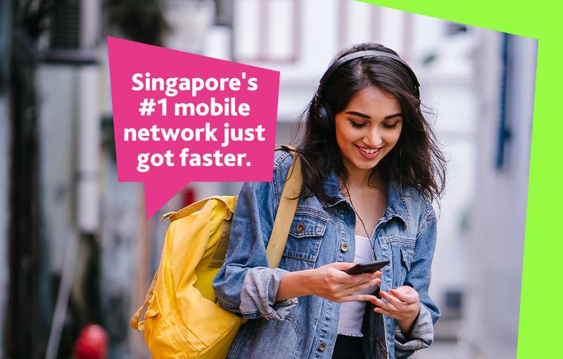 StarHub's 5G SA network is live now. Image credit: StarHub.