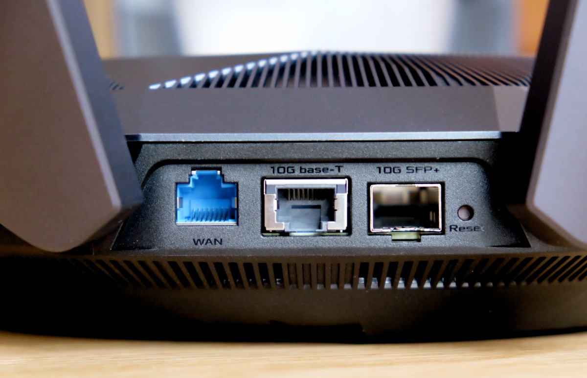 The RT-AX89X has two 10Gbps ports.