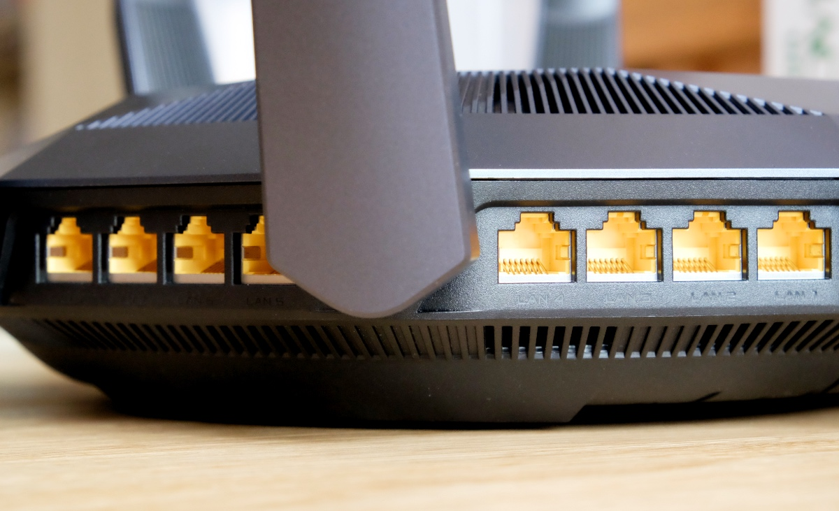 Need multiple LAN ports for your TV, game consoles, and NAS systems? Will 8 LAN ports do?