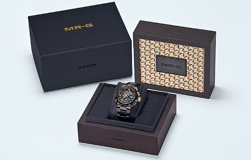 Only 400 pieces are available worldwide. Image courtesy of Casio.