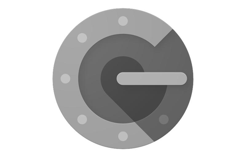 Google Authenticator app.