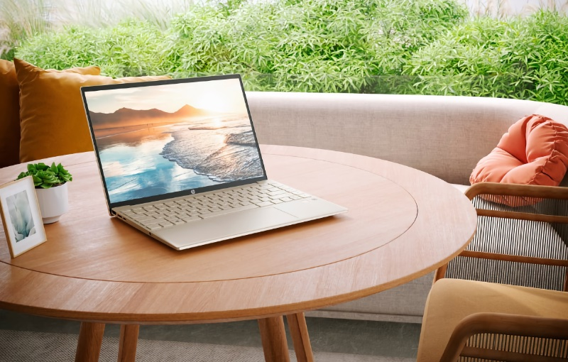 The new HP Pavilion Aero 13 is its lightest yet. Image courtesy of HP.