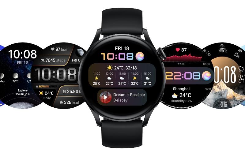 The Huawei Watch 3 (Image source: Huawei)