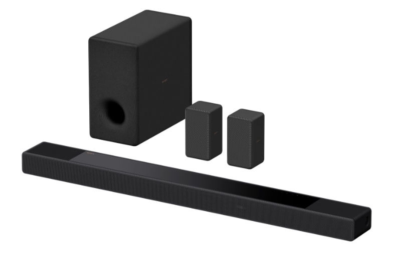 You can add separate subwoofers and rear speakers to the HT-A7000. (Image source: Sony)