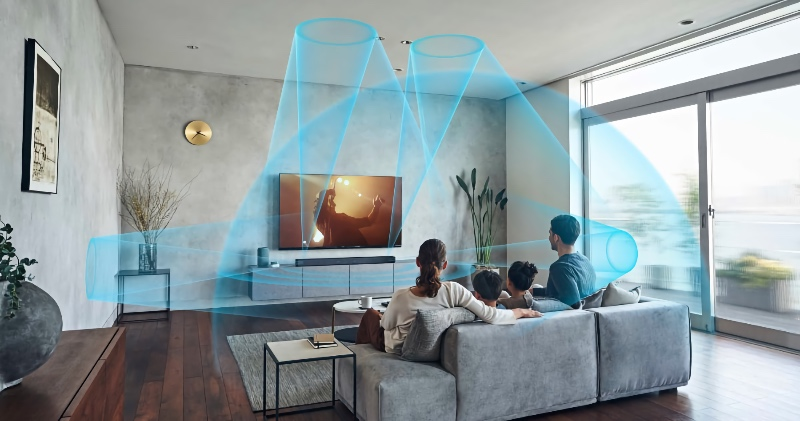 The Sony HT-A7000 soundbar has a built-in self-calibration feature. (Image source: Sony)