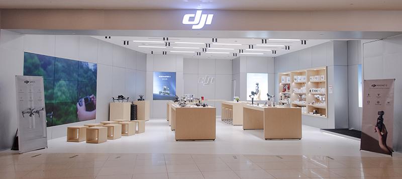 DJI official store at VivoCity. Image: DJI Singapore.