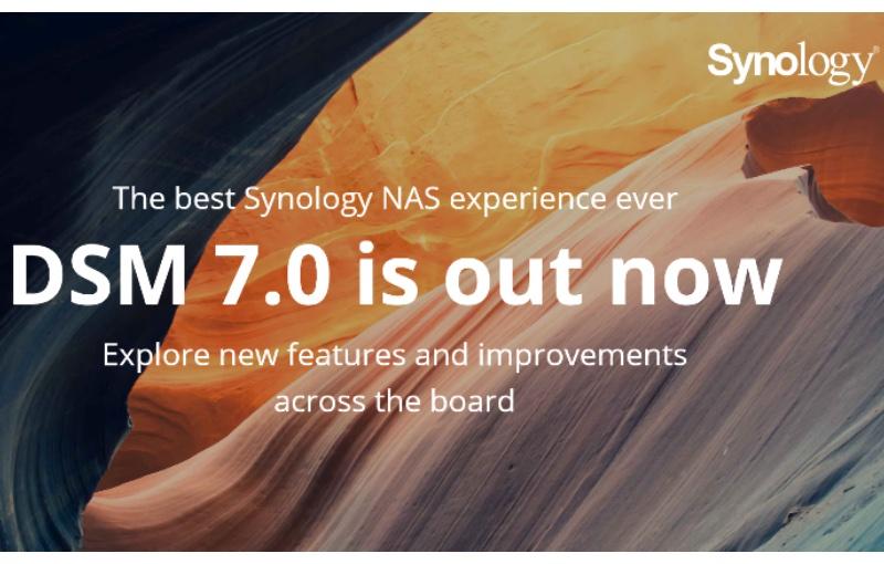 Synology DSM 7.0 has a whole range of improvements. Image courtesy of Synology.