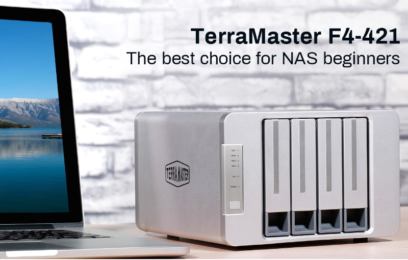 TerraMaster says the NAS is perfect for beginners as it's easy to operate and cost-effective. Image courtesy of TerraMaster.