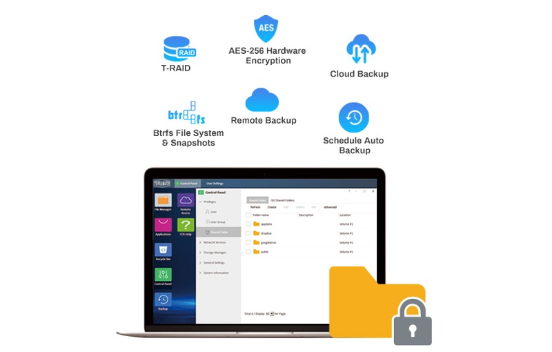 It includes data protection for business users. Image courtesy of TerraMaster.