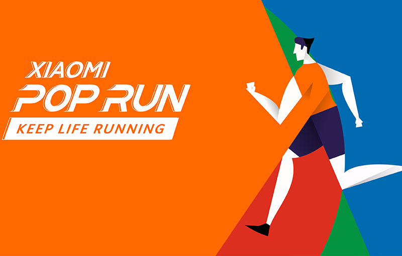 Xiaomi Pop Run 2021 in Singapore.