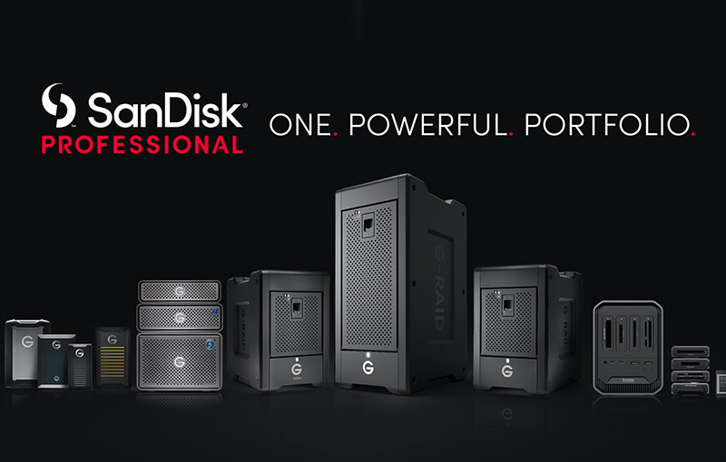 SanDisk Professional, a new product line by Western Digital.
