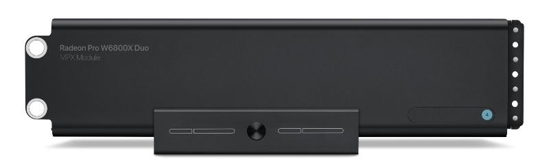 The Radeon Pro W6800X Duo. (Image source: Apple)