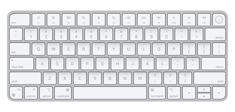 Magic Keyboard with Touch ID. <br>Image source: Apple